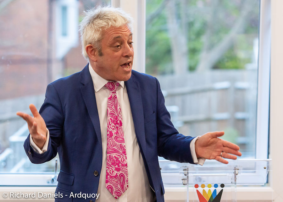 John Bercow MP addresses the Icknield Group of Women's Institutes