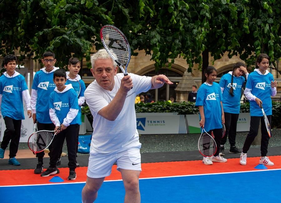 John Bercow welcomes Lawn Tennis Association indoor tennis courts announcement